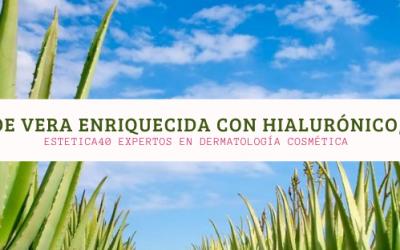 Aloe vera enriquecida con Argán, Caléndula, oliva, hialurónico… Imprescindible en tu neceser.