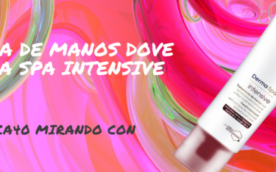 Crema de manos Dove Derma Spa Intensive