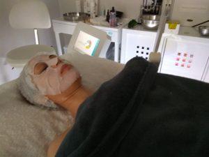 tratamiento mascara led