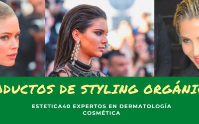 Productos de styling: gominas, ceras, lacas, espumas… ¿Naturales o químicos?