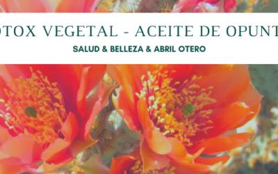 El botox vegetal aceite de opuntia-higo chumbo