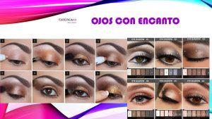 color ojos organico
