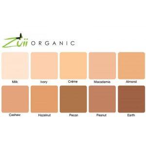 maquillaje compacto zuii organic