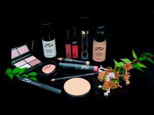 variedad de maquillajes zuii organic