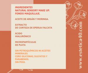 Ingredientes maquillaje Philip Martins